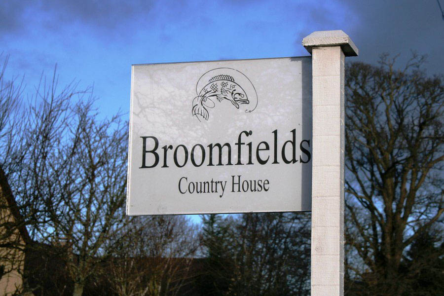 Broomfields Country House luxury bed and breakfast in Bemersyde, Melrose, Scottish Borders1